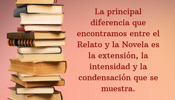 Pila de libros de relato y novela
