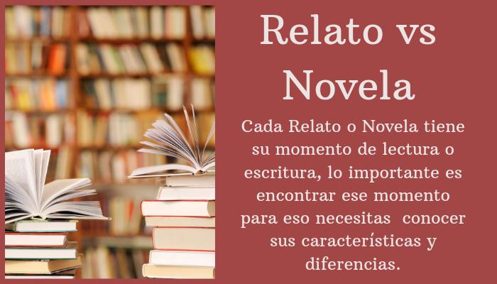 Relato vs Novela