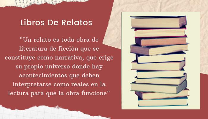 Libros de relatos como obras de literatura de ficción