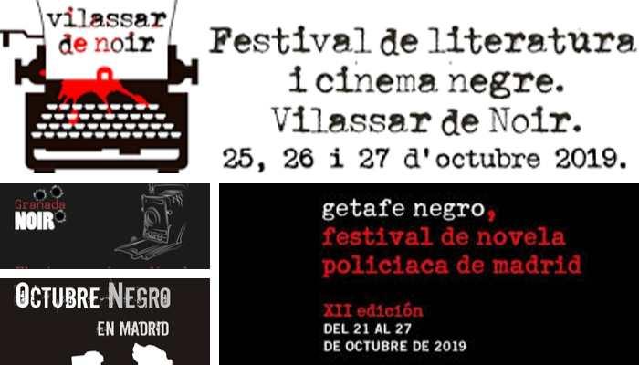 Festivales de Novela Negra en Octubre